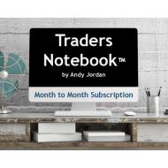 Month-to-Month Traders Notebook Subscription